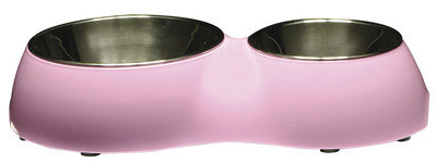 Catit 2-in-1 Double Diner In Pink