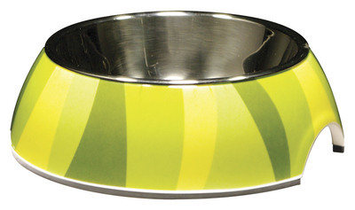 Catit 2-in-1 Jungle Stripe Cat Dish
