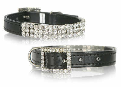 Square Diamante  Black