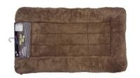 Slumber Mat - Soft Fleece In Choc 24 x 18 x 1