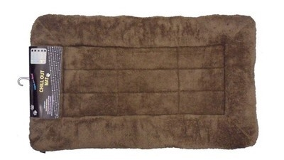 Slumber Mat - Soft Fleece In Choc 24 x 18 x 1