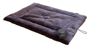 Crate Mat - Soft Fleece In Choc 24 x 18 x 1