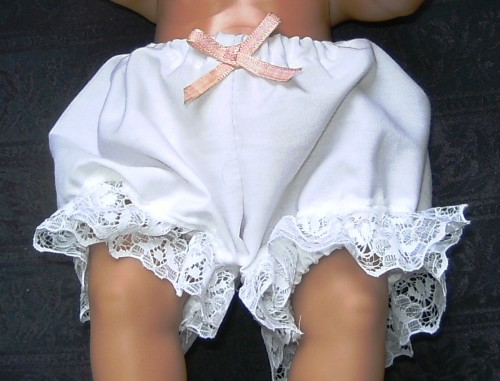 Dolls panties to fit 12 inch baby doll