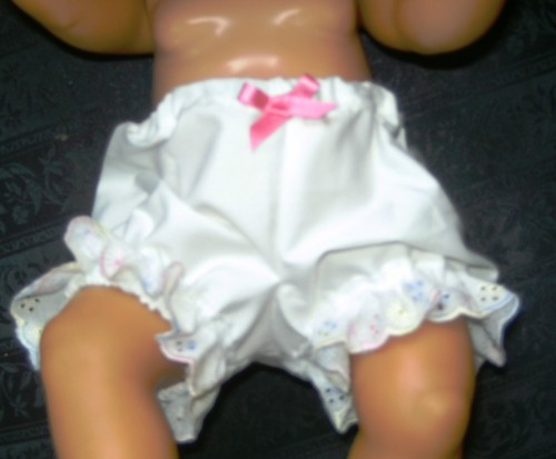 Dolls panties to fit Baby born doll and most 16 inch high baby dolls
