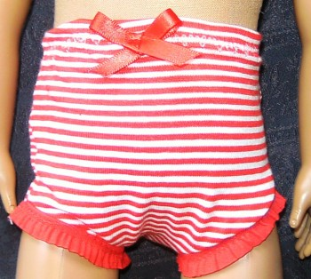 Dolls panties to fit the 18 inch high Sindy and most 18 inch high girl dolls