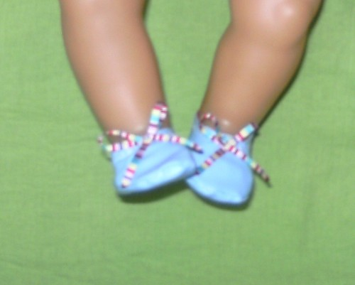 dolls shoes to fit Baby Born and most 16 inch high baby dolls