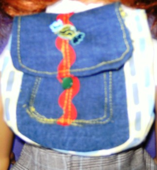 Dolls backpack to fit american girl doll