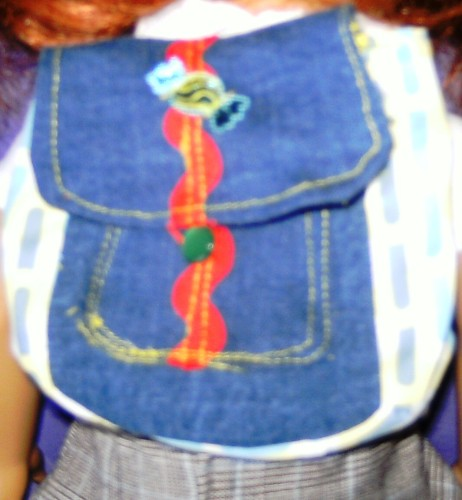 Dolls backpack to fit baby Born doll