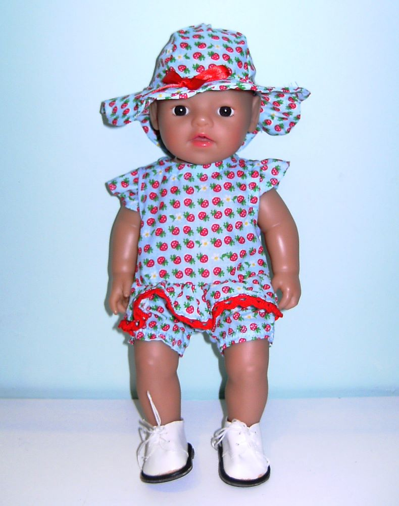 <!--035-->  doll's clothes for 12 inch baby doll