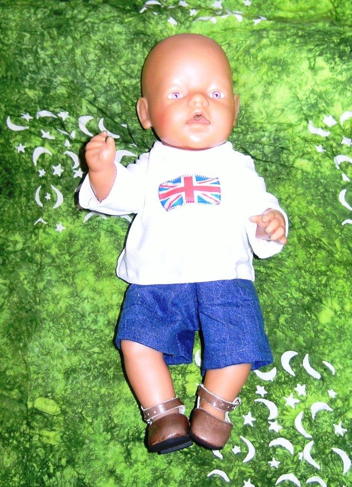 Doll's sport suit
