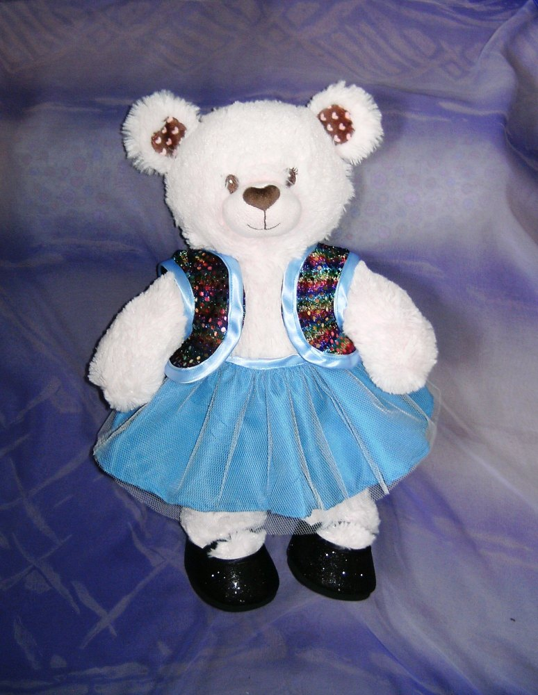 Teddy bear's tutu set to fit Build a bear and 18 inch high teddy bears