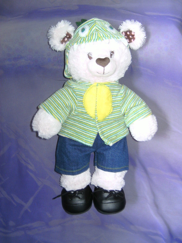 Teddy bears and build a bear's Dinosaur hoody and shorts