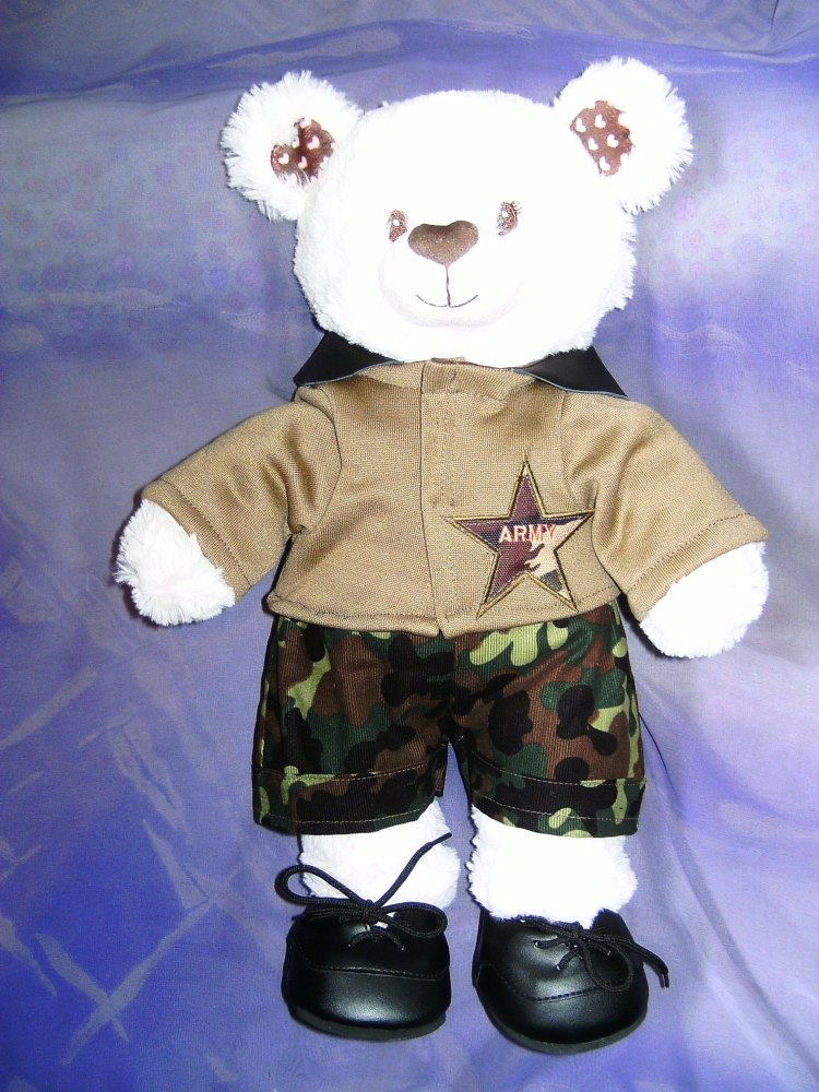 Teddie's army outfit to fit build a bear