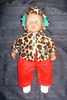 Doll's Fleece hoody to fit Geoge doll