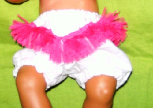 Doll's panties to fit Baby Born doll