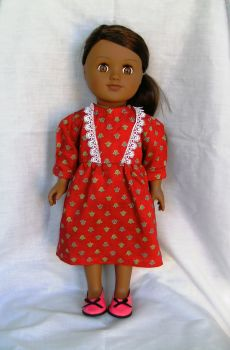 Dolls dress to fit the 18 inch Sindy and most 18 inch girl dolls