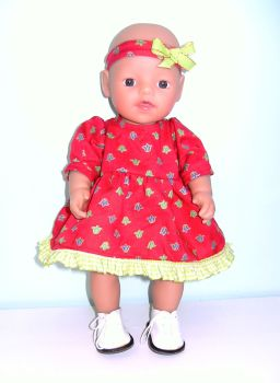 Doll's dress and Alice band