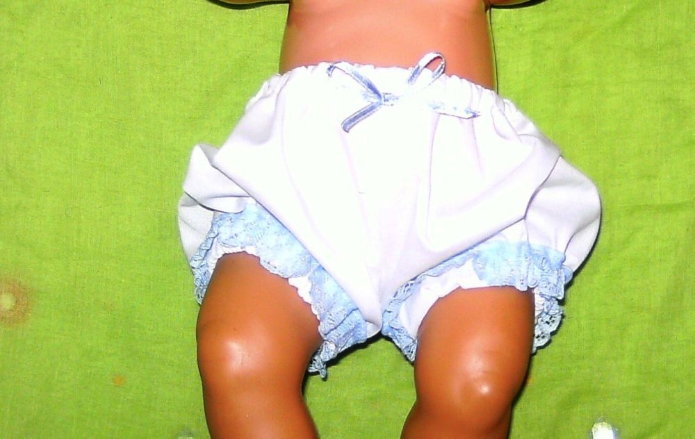 Doll's panties for Baby Born doll