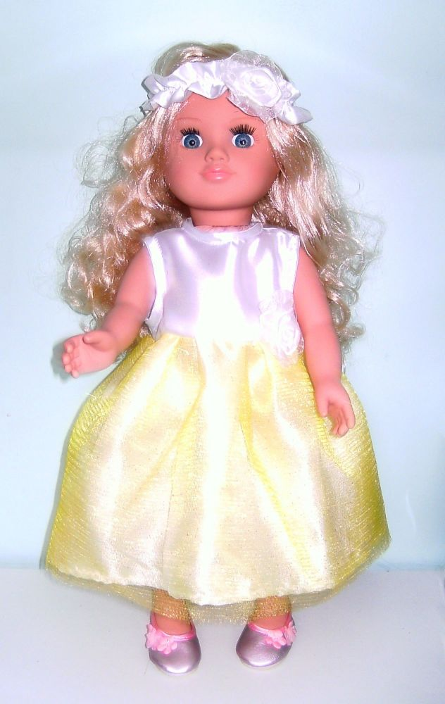 Doll's party dress and Alice band