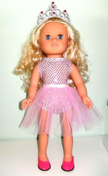 Doll's princess outfit made for 16 inch high Sindy dolls
