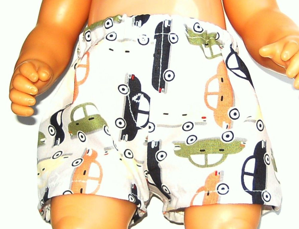 Doll's Jockey shorts made to fit Baby born boy and 16 inch high baby dolls