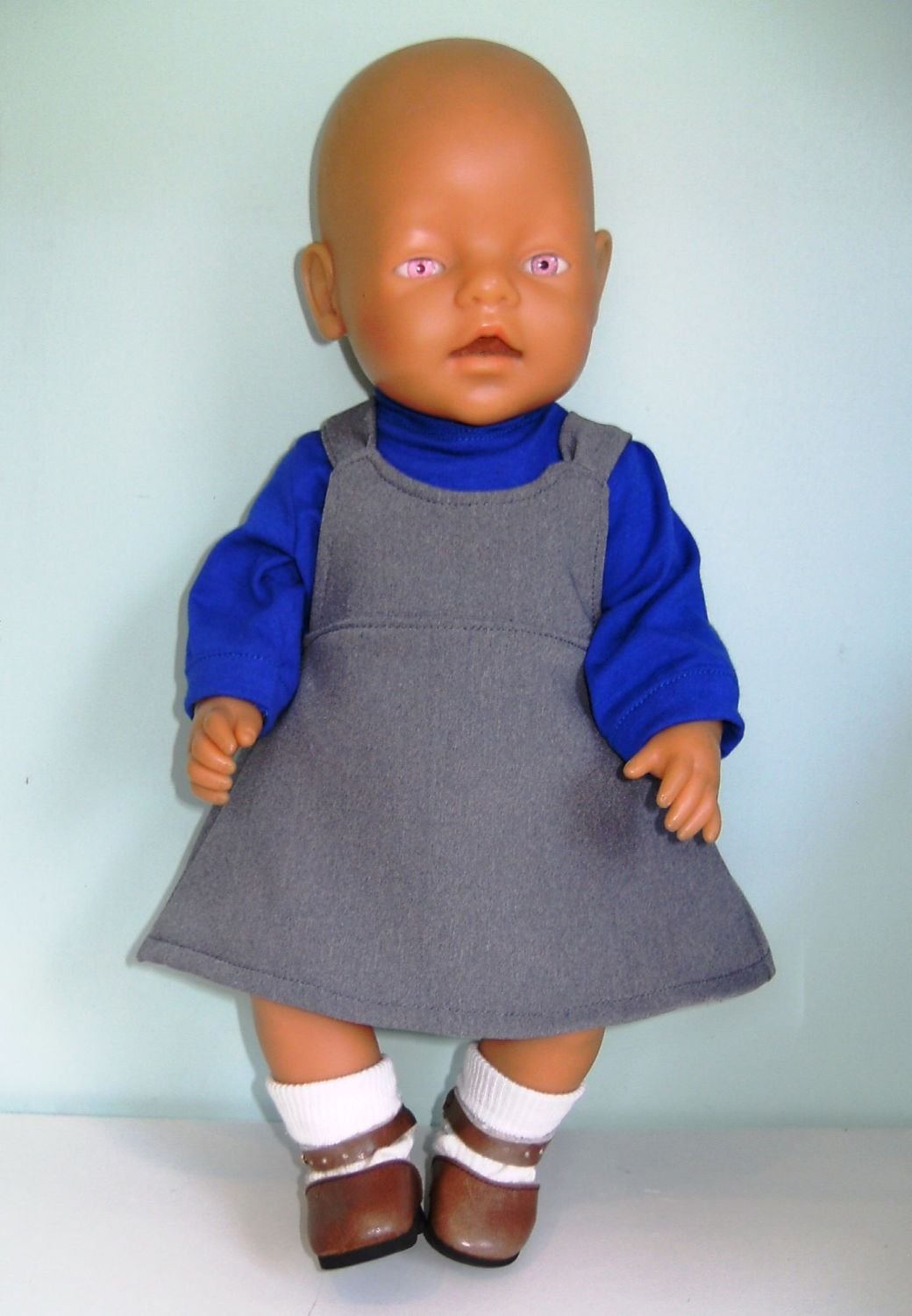 Doll's School uniform to fit Baby Born doll and 16 inch high baby dolls