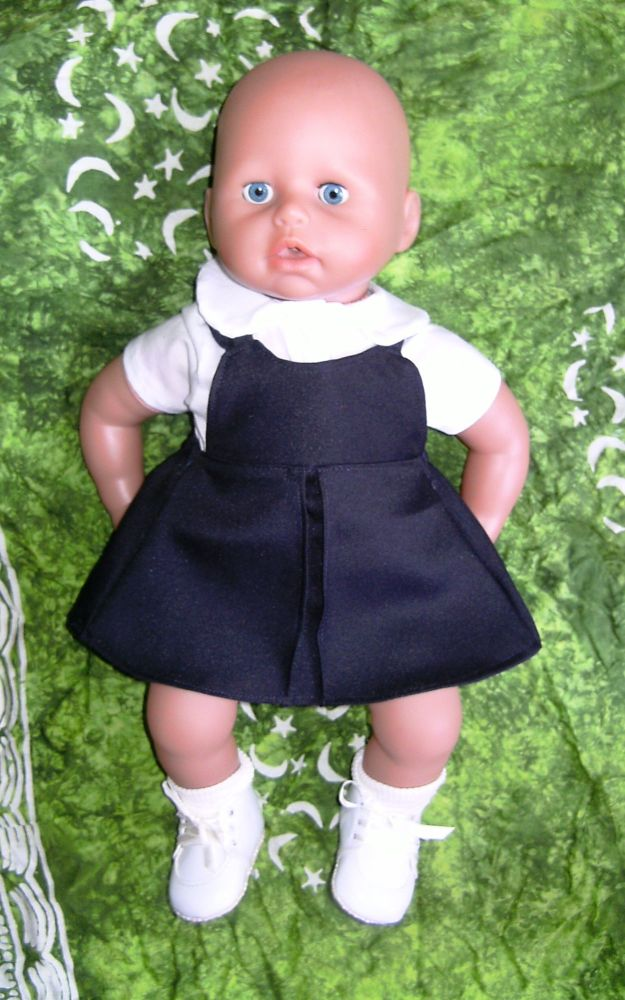Doll's School uniform to fit Annabell and most 16 inch high baby dolls
