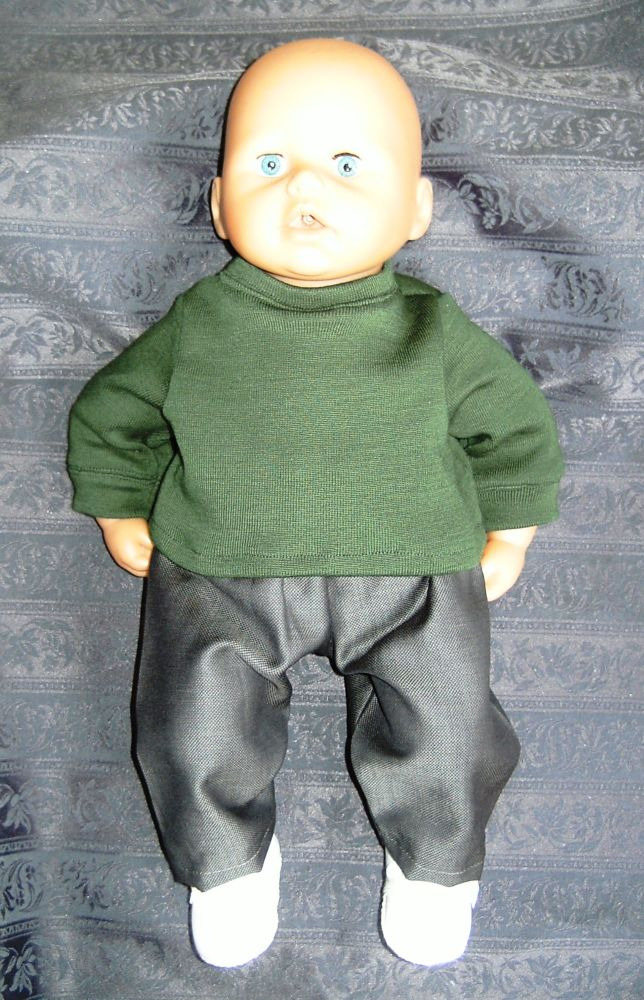 Doll's school uniform