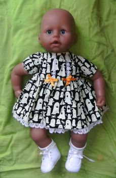 Doll's Halloween dress to fit Annabell doll