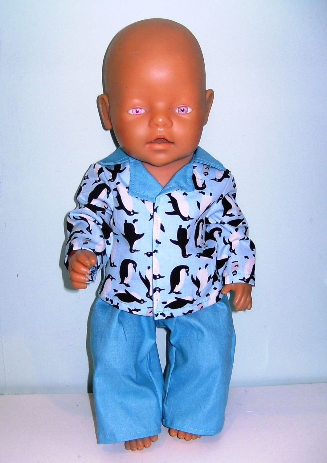 Doll's pajamas for Baby Born Boy doll