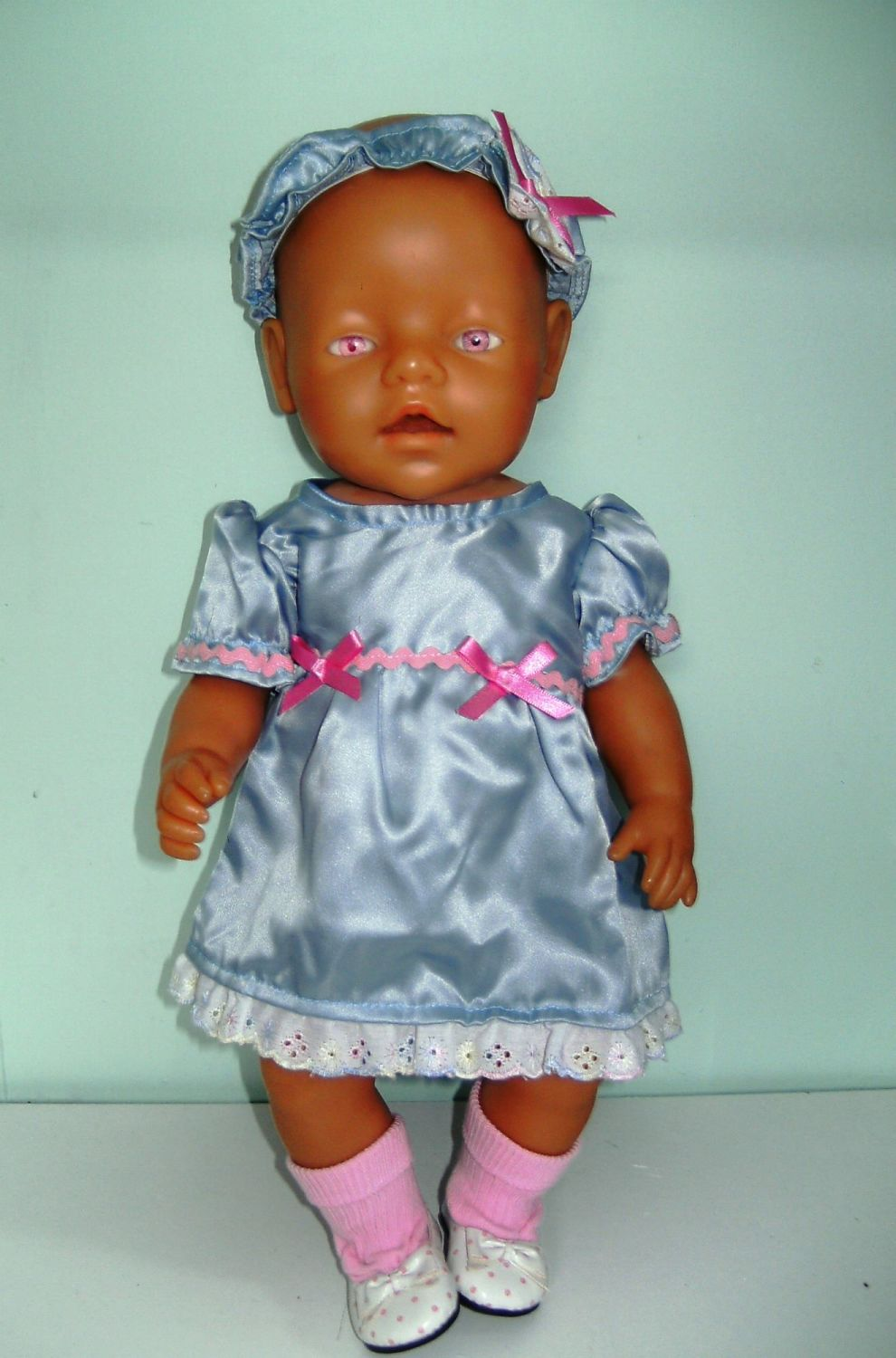 Doll's dress to fit Baby born and most 16 inch high baby dolls