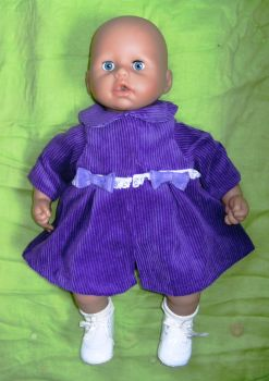 Doll's coat for Annabell baby doll