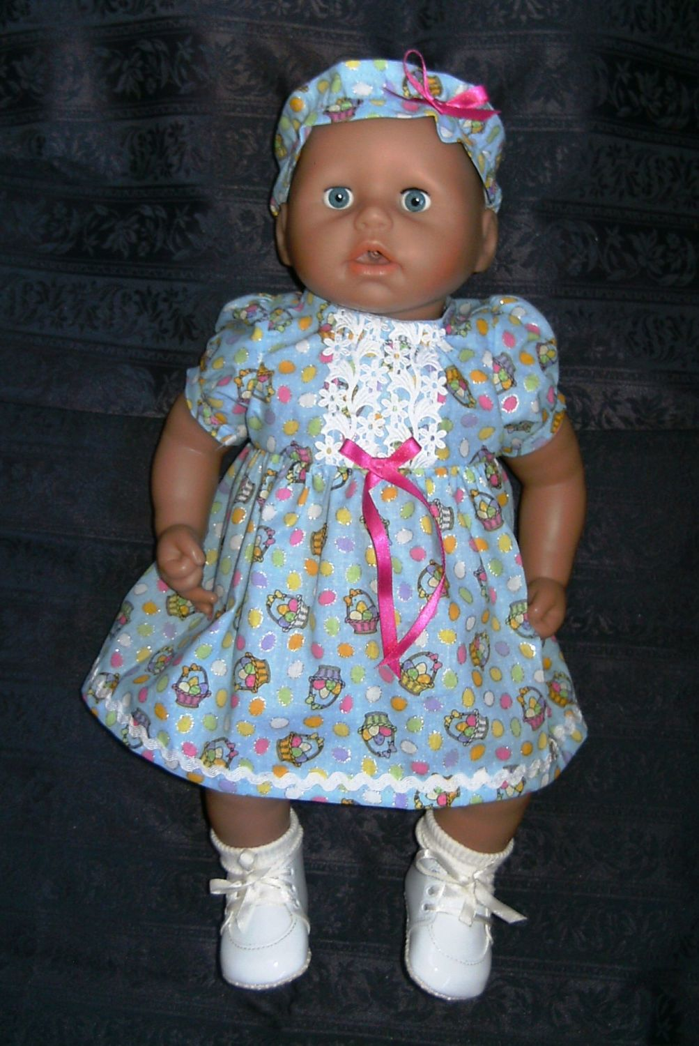 D0ll'd dress to fit a 18 inch high Annabell doll