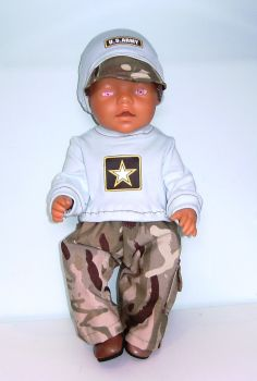 Doll's Army camouflage set