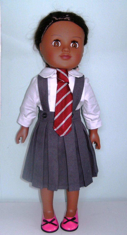 dolls matilda school kilt veiw
