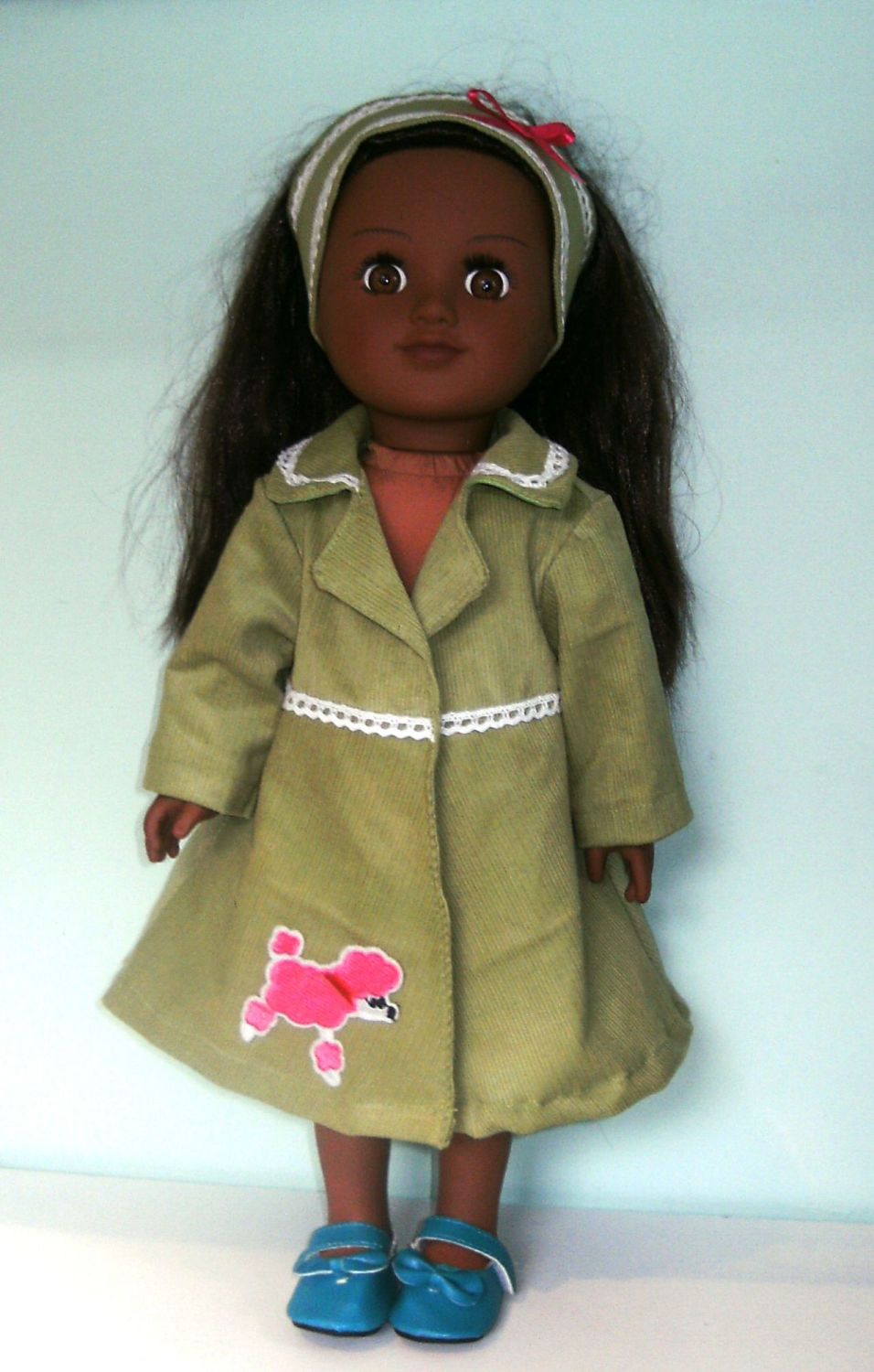 Doll's coat set made to fit My generation and most 18 inch high dolls