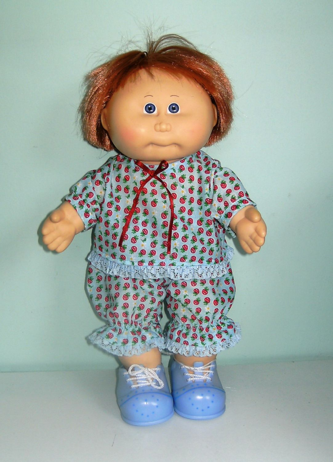 Doll's playsuit  to fit 14 inch high Cabbage Patch dolls