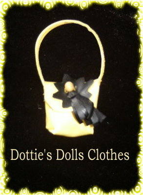 Dolls Yellow Handbag