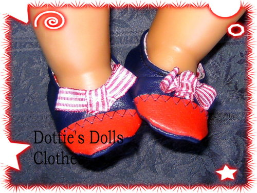 Dolls shoes to fit Baby Born doll