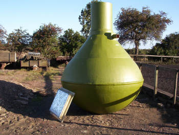 conical septic tank