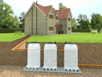 FilterPod Non-Electric sewage treatment plant