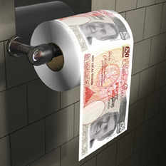 Gordon Brown Loo Roll