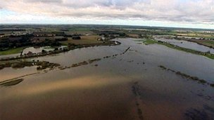 Flood at Gowdall