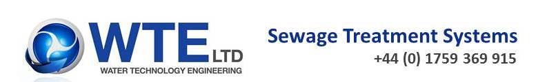 WTE Sewage Treatment Plants and Septic Tanks, site logo.