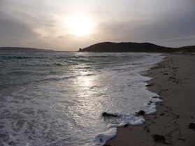 sunset from Par Beach, St Martin