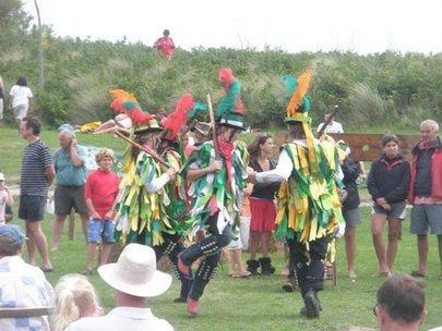 Goose dancing at St Martin