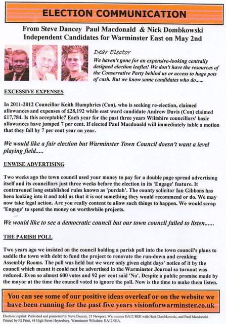 East Ward Colour Leaflet 003