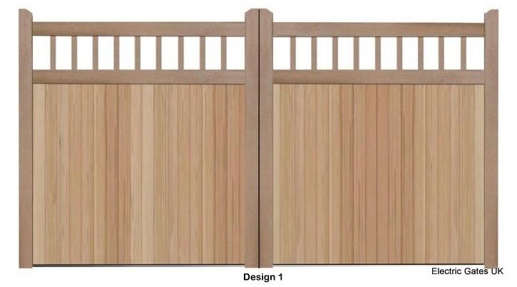 Timber gate 1