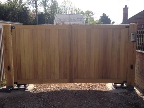Hardwood Gate 1