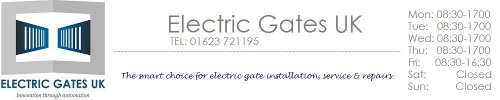 Electric Gates UK, site logo.